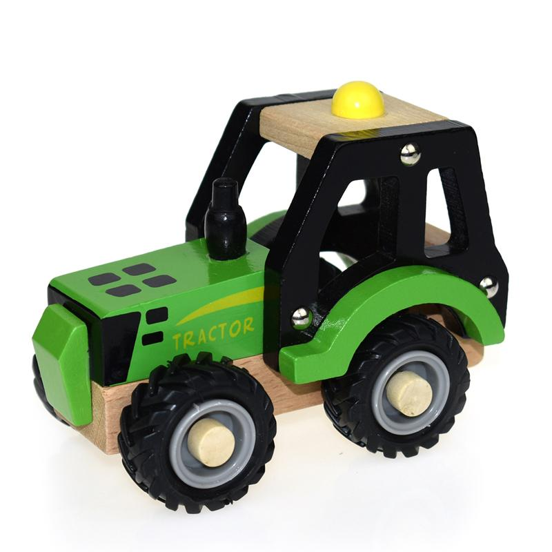 Wooden Tractor (Green)