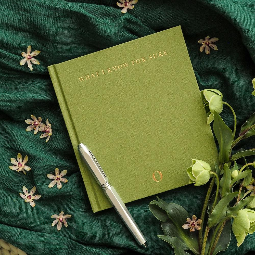 Oprah x Write to Me What I Know For Sure Journal