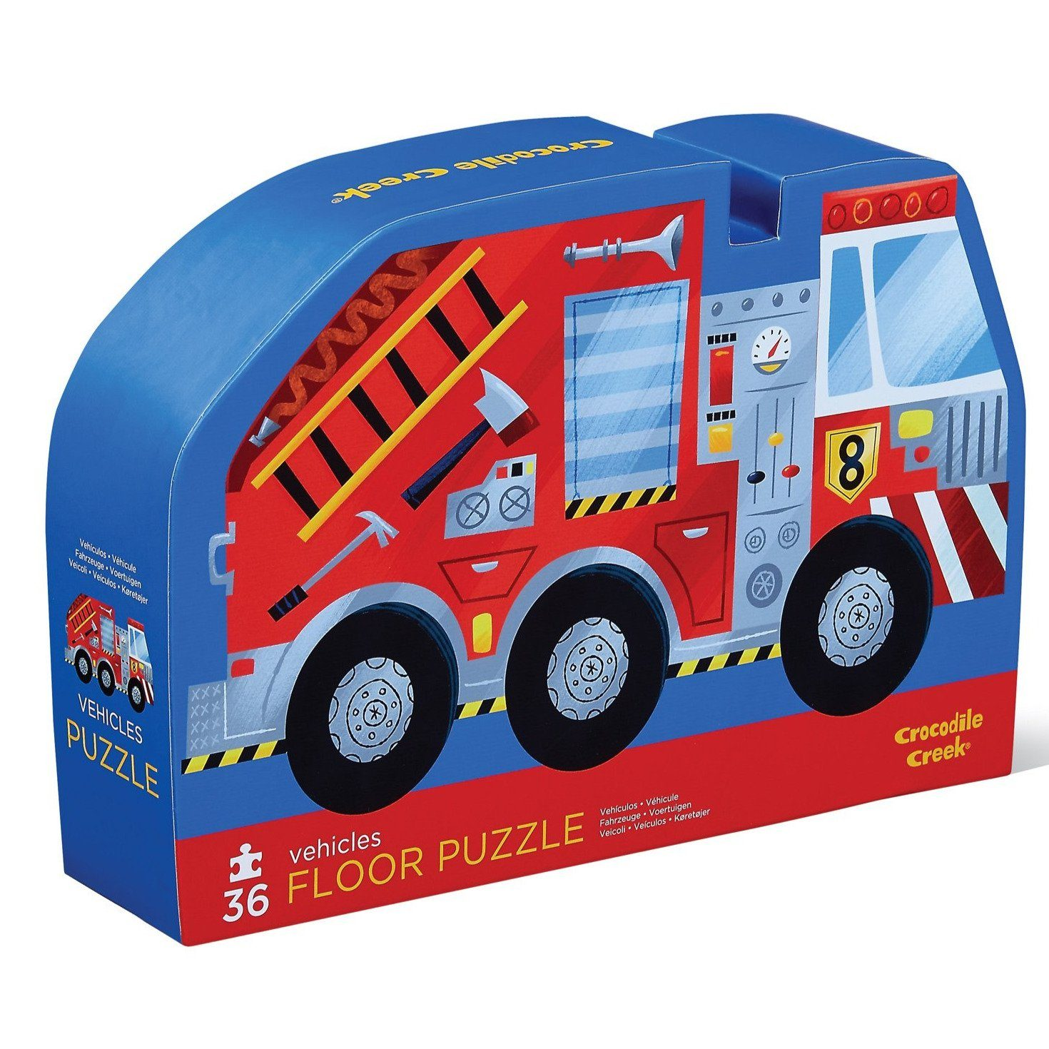 Vehicles Puzzle (36 Pieces)
