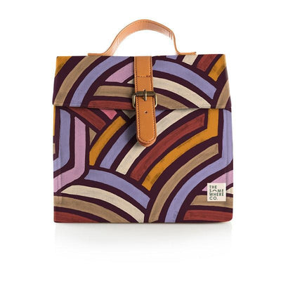 Road Less Travelled Lunch Satchel (Burgundy)