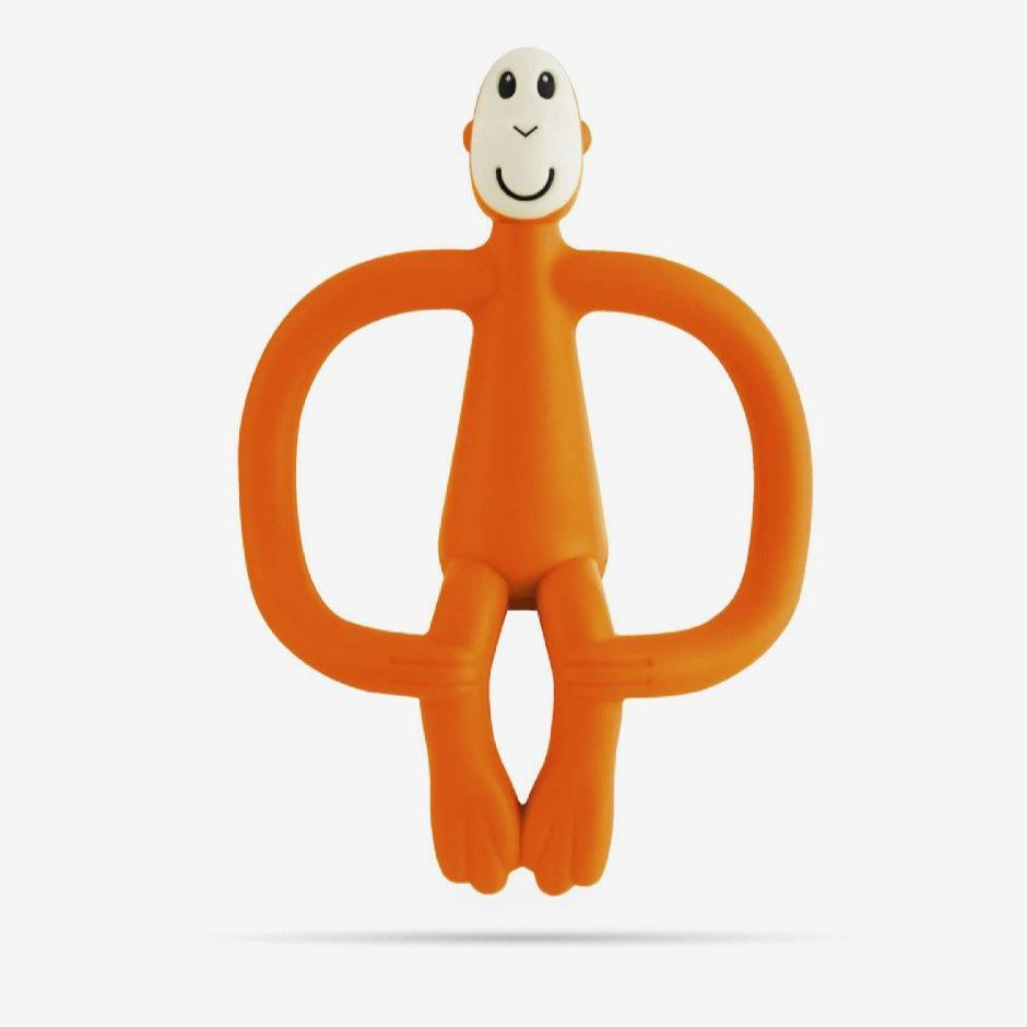 Monkey Teether (Orange)