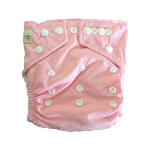 Baby Pink Modern Cloth Nappy