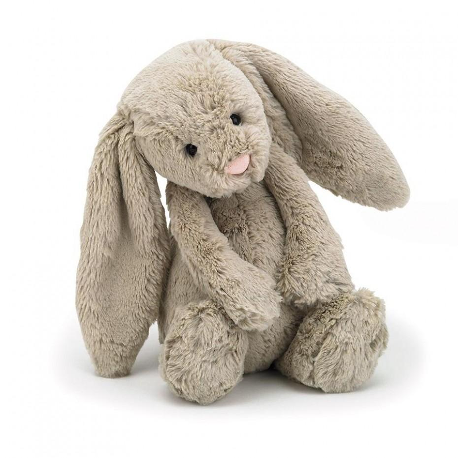 Bashful Beige Bunny (Medium)