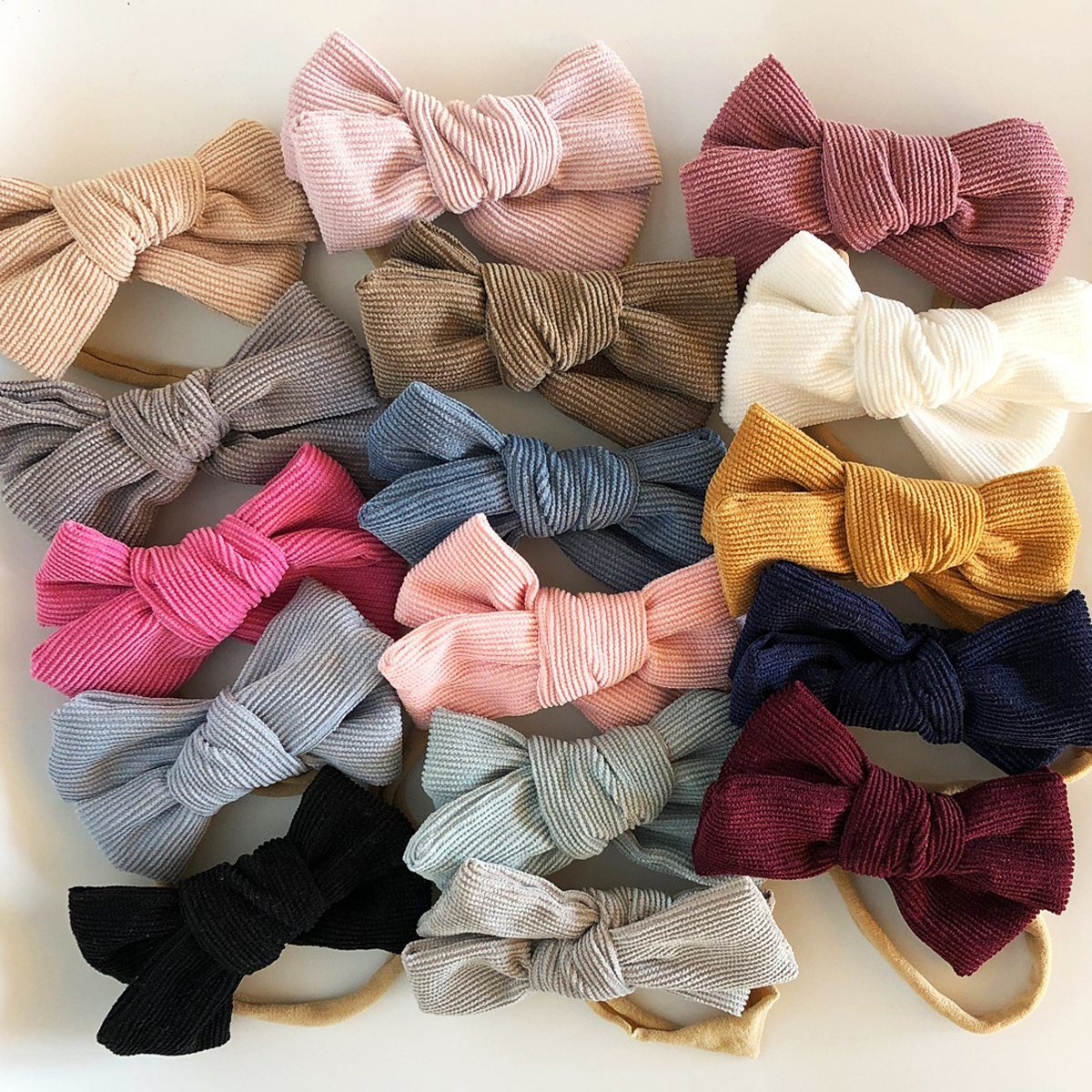 Big Cord Bow Headband