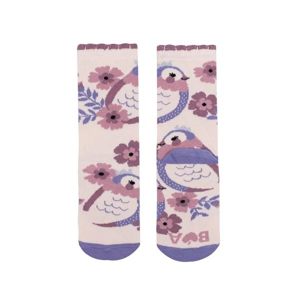Princess Birds Midi Socks