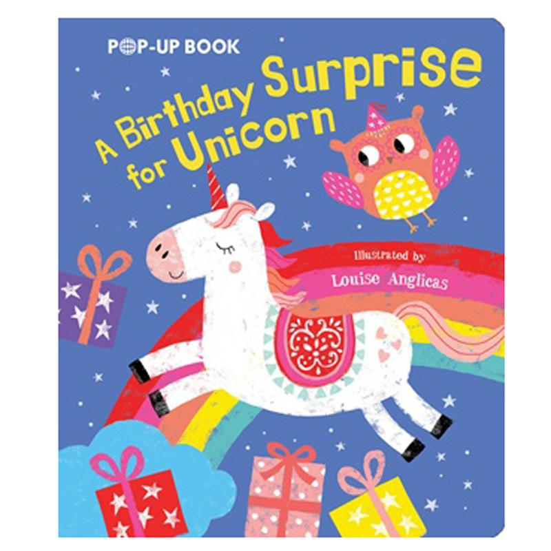 Birthday Surprise for Unicorn Pop Up Book