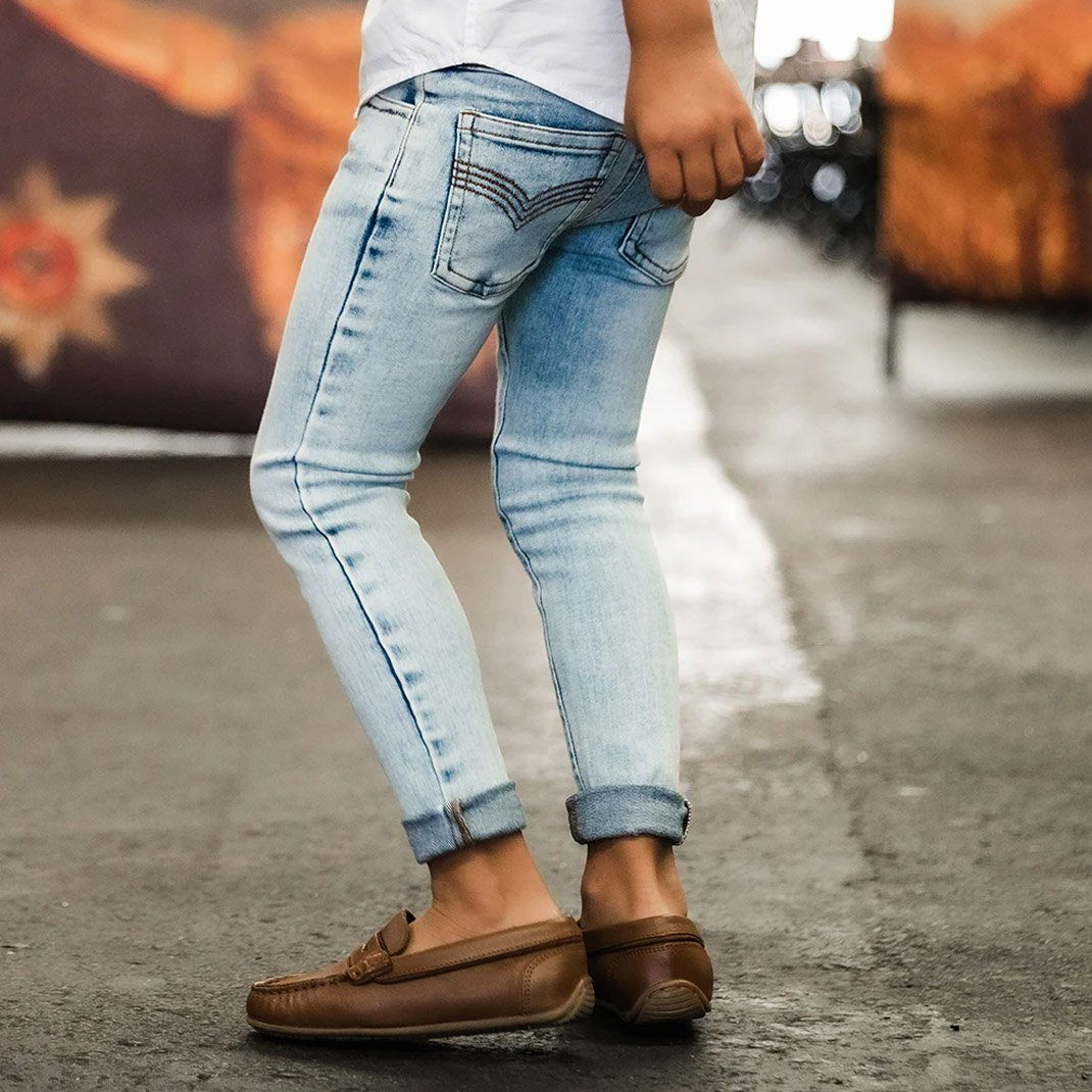 Jeg Jeans (Blue Denim)