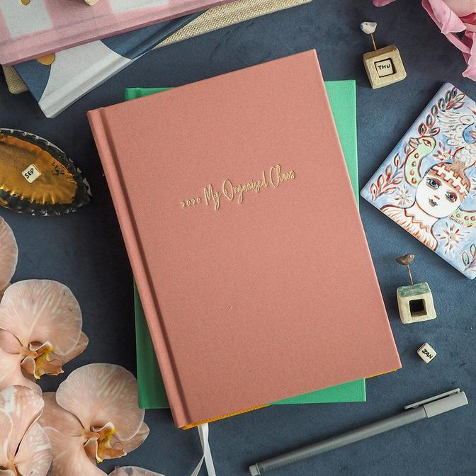 2020 Weekly Planner (Blush)