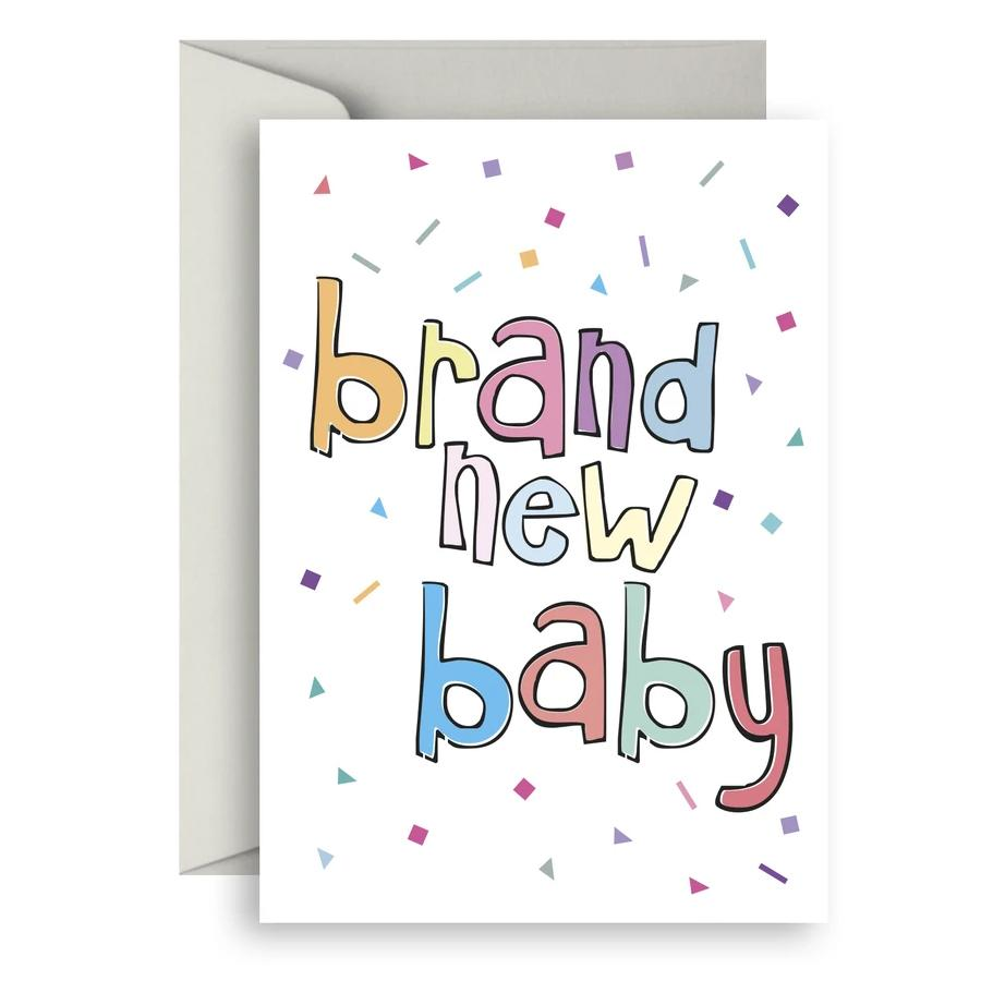 Brand New Baby Greeting Card