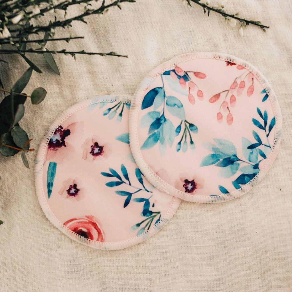 Reusable Breast Pads (Kiss of Spring)