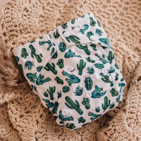 Cacti Modern Cloth Nappy