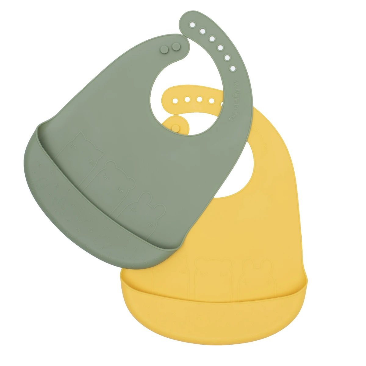 Catchie Bibs (Sage/Yellow)