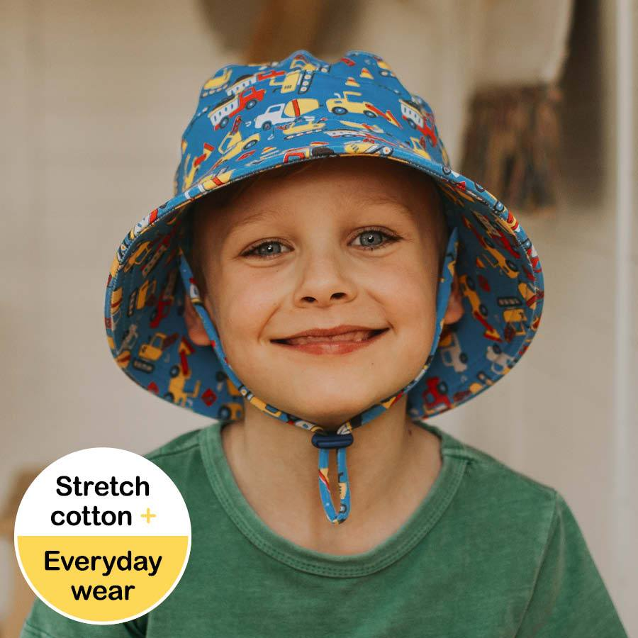 Boys Bucket Hat (Construction)