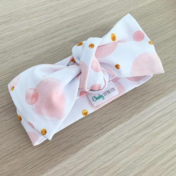 Blush Bubbles Bow Knot
