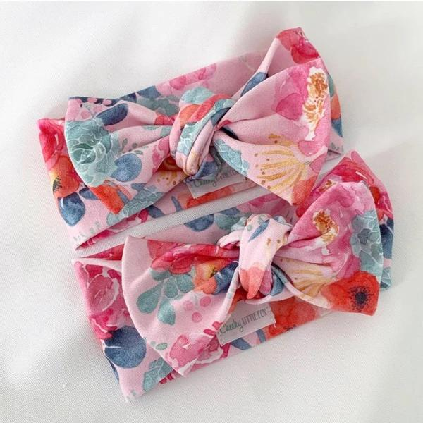 Poppy Pink Bow Knot