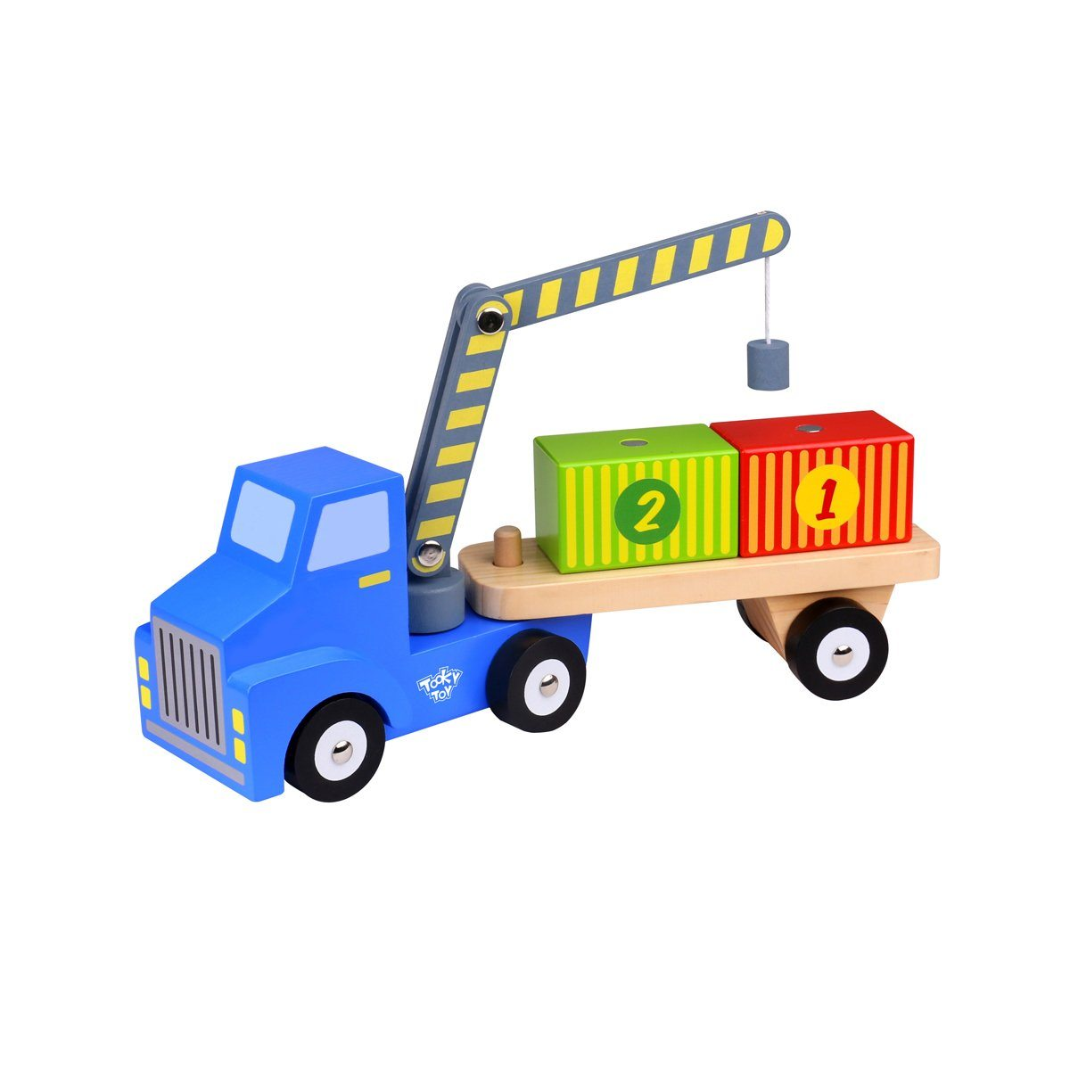 Carrier Truck with Containers