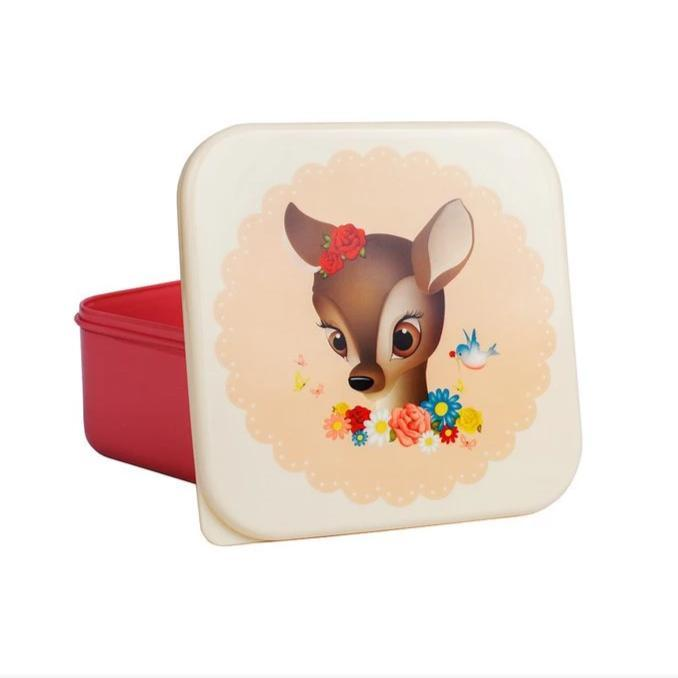 Lunch Snack Box (Pink Deer)