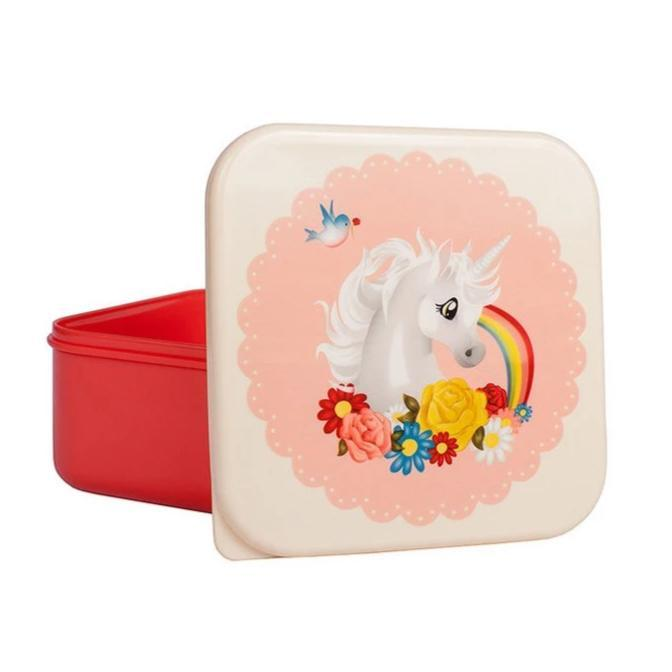 Lunch Snack Box (Pink Unicorn)