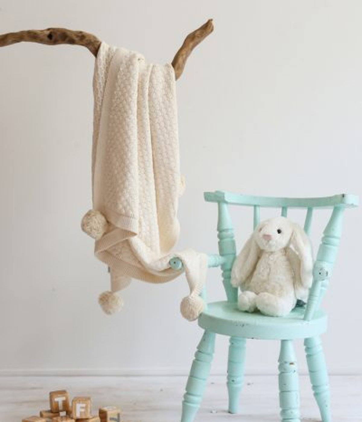 Milly Baby Blanket (Natural)