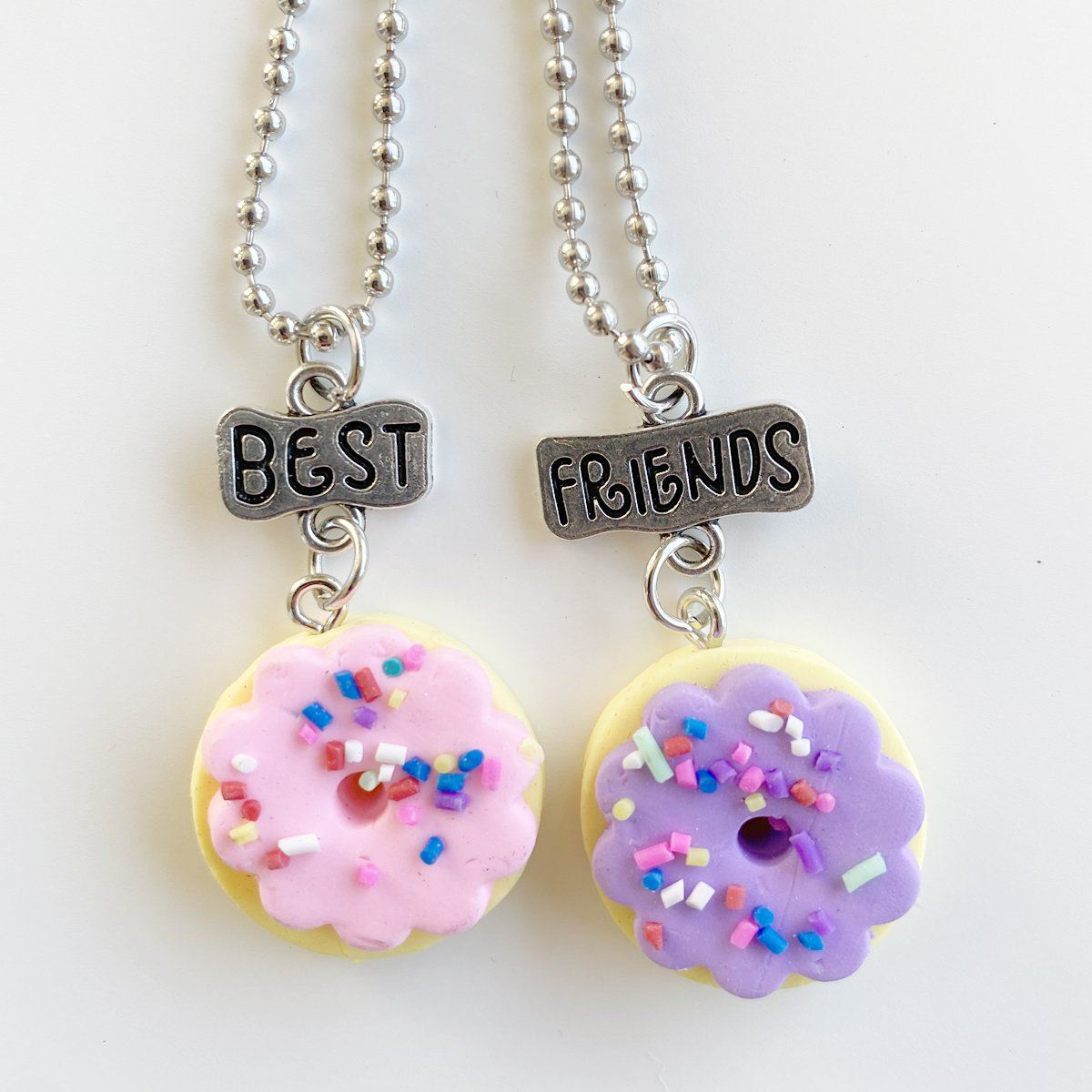Donut Best Friends Necklace