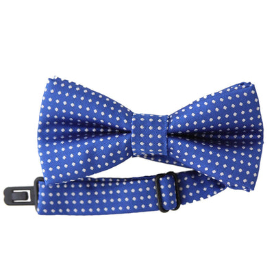 Dot Bow Tie (Blue)