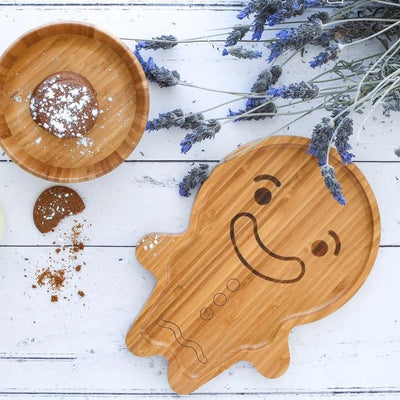 Gingy the Gingerbread Man Plate
