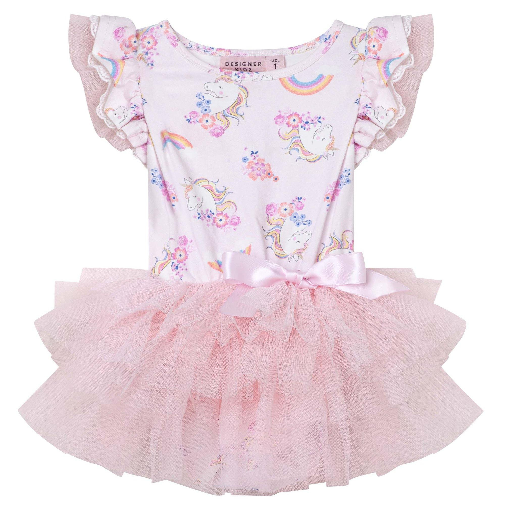 Enchanted Unicorn SS Petti Romper
