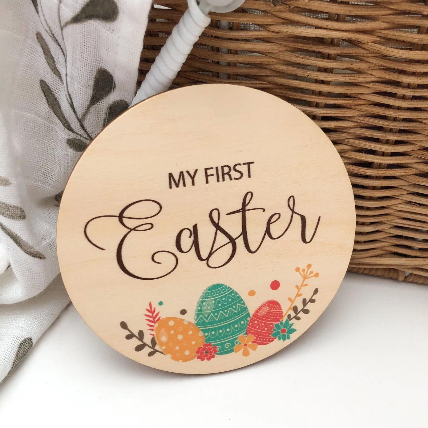 My First Easter Plaque (Easter Eggs)