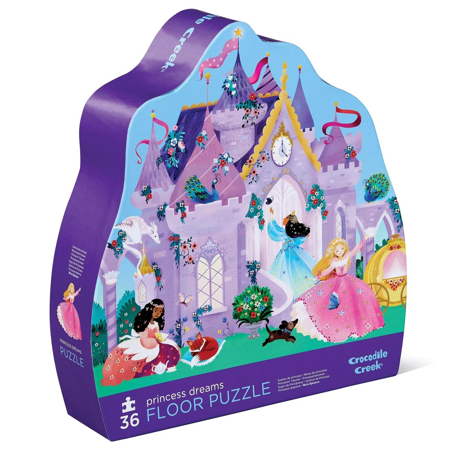Classic Floor Puzzle 36 Pieces (Princess Dreams)