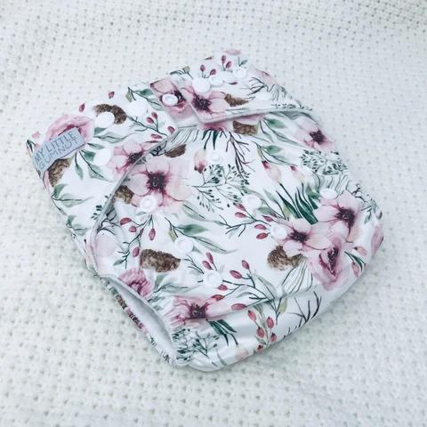 Floral Modern Cloth Nappy