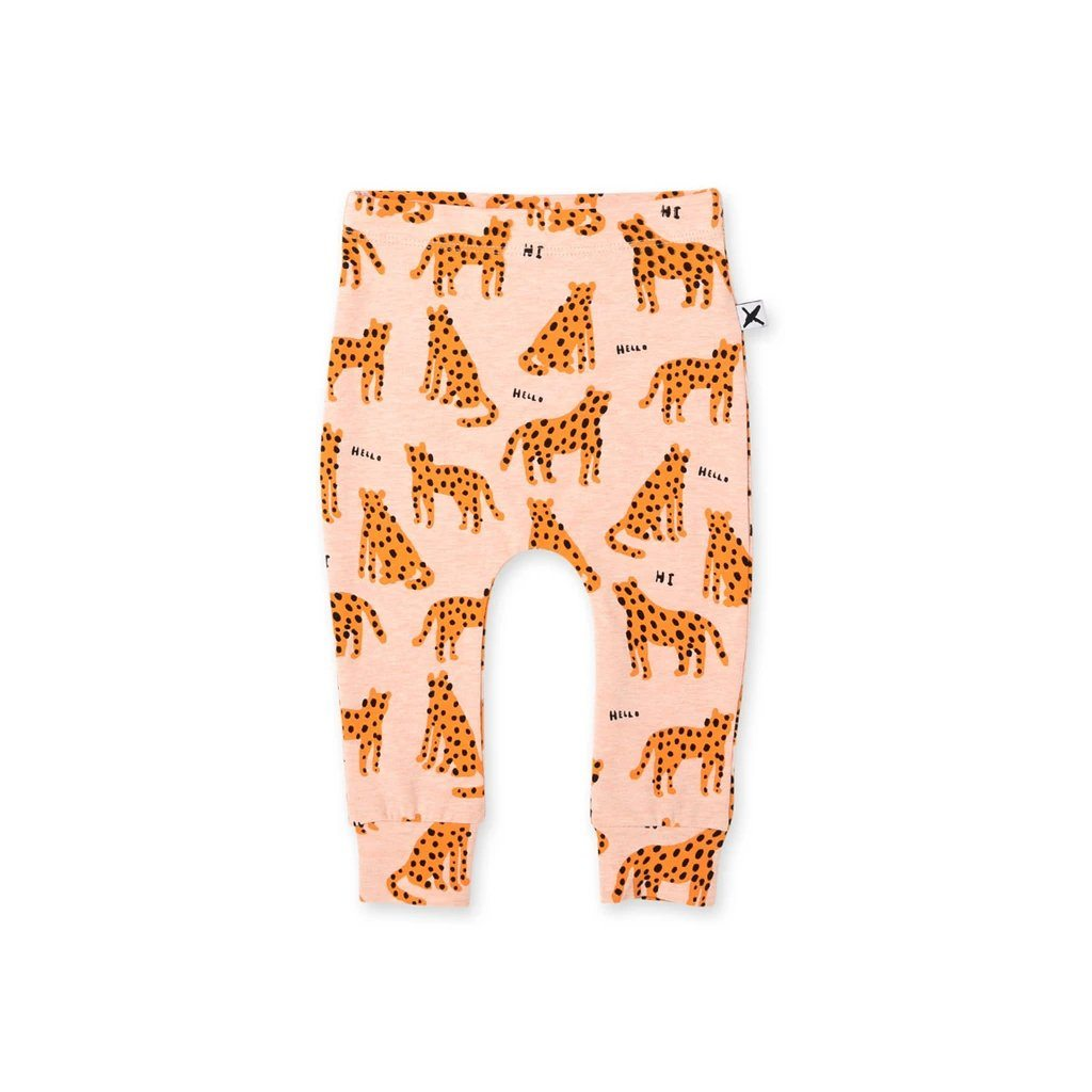 Friendly Cheetahs Baby Pants