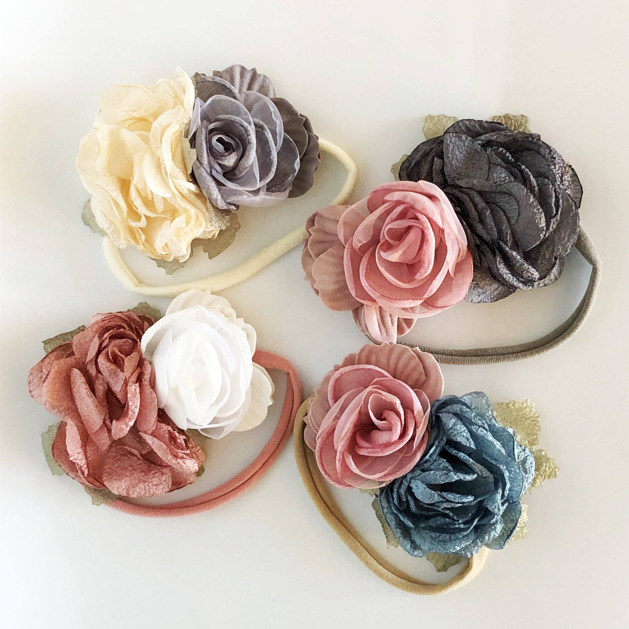 Full Bloom Flower Headband