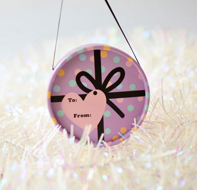 Purple Gift Bauble (LIMITED EDITION)