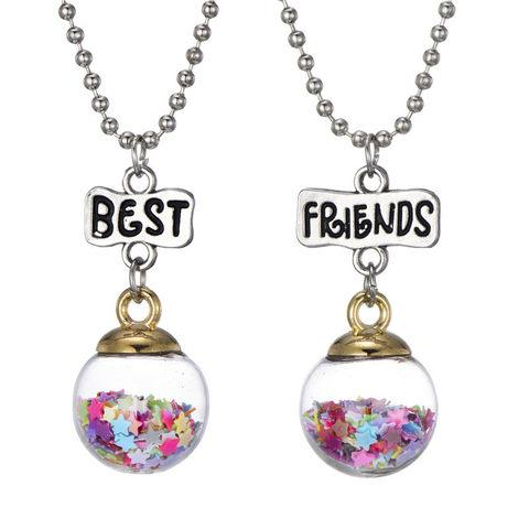 Sparkle Jar Best Friends Charm Necklace