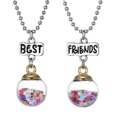 Sparkle Jar Best Friends Necklace
