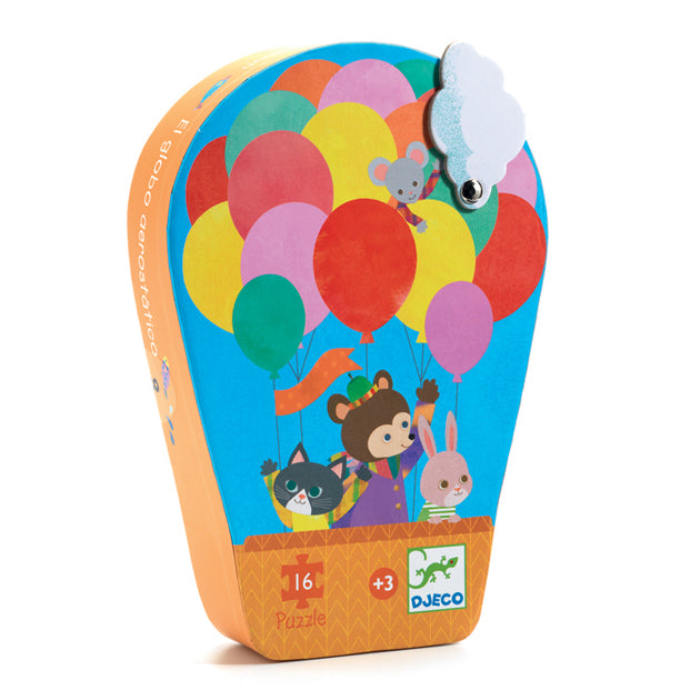 Hot Air Balloon Puzzle (16 Pieces)