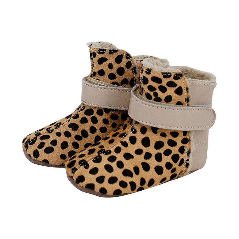 Infant Snug Boots (Leopard)
