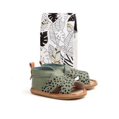 Cross Over Sandal (Jungle Spots)