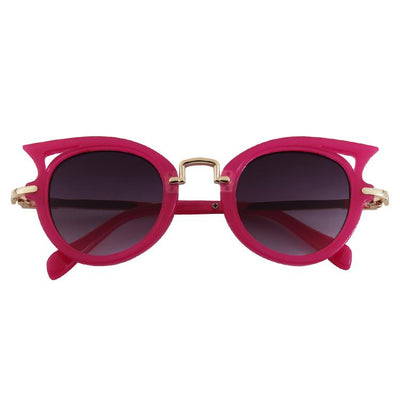 Miss Meow Sunglasses (Fucshia)