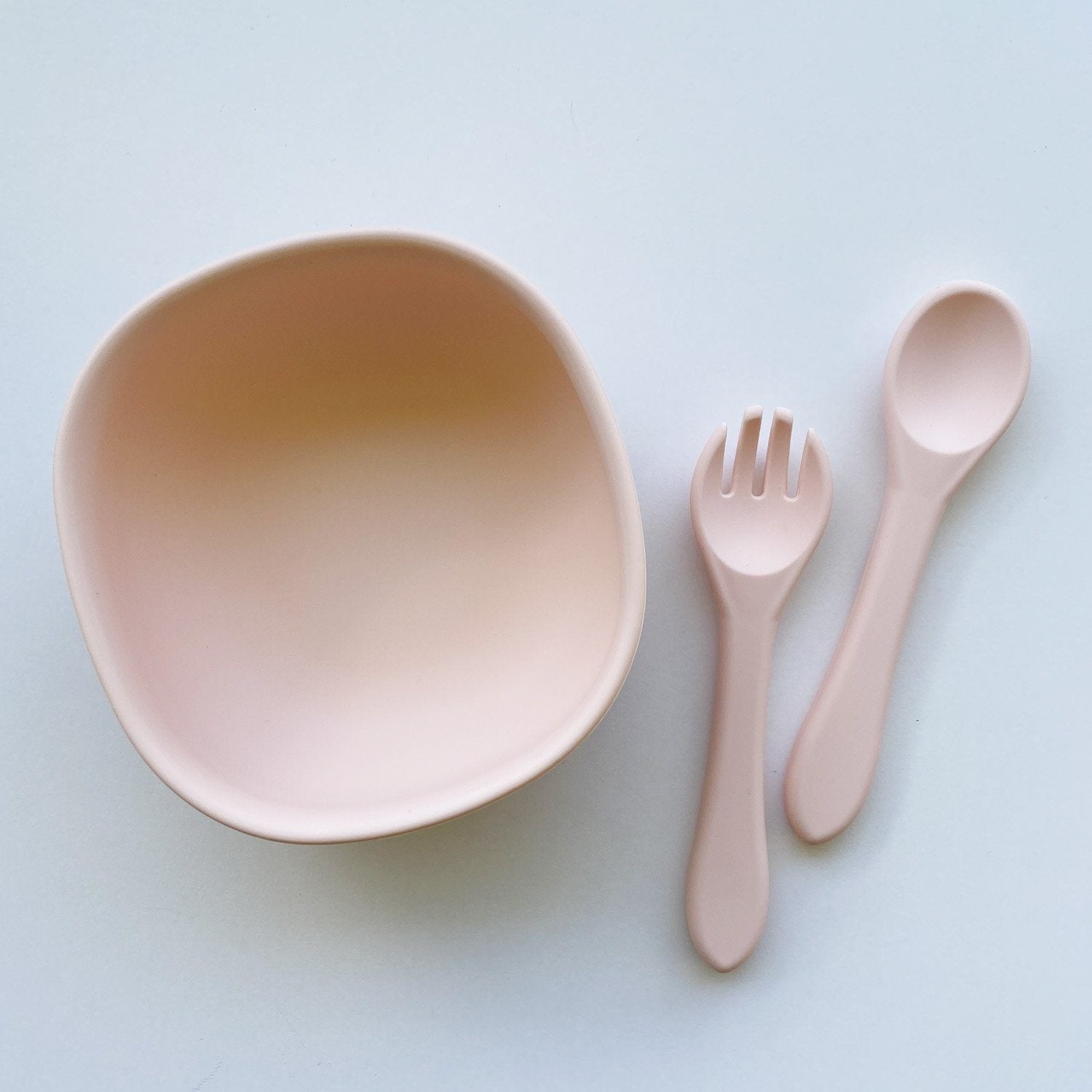 Silicone Suction Bowl & Cutlery