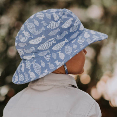 Broadbrim Sun Hat (Fish)