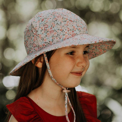 Broadbrim Ponytail Sun Hat (Arabella)