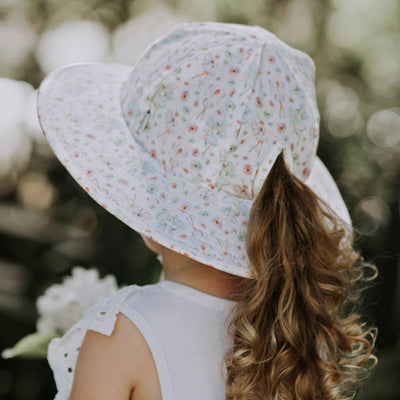 Toddler Ruffle Bucket Hat (Fairies)