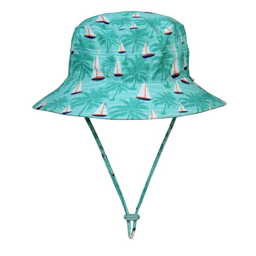 Beach Bucket Hat UPF50+ (Boats)