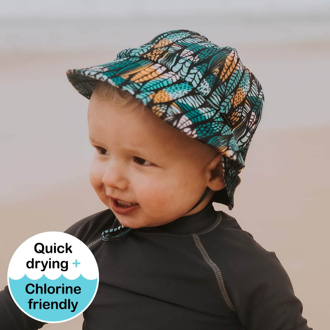 Boys Beach Legionnaire Hat (Surfboard)