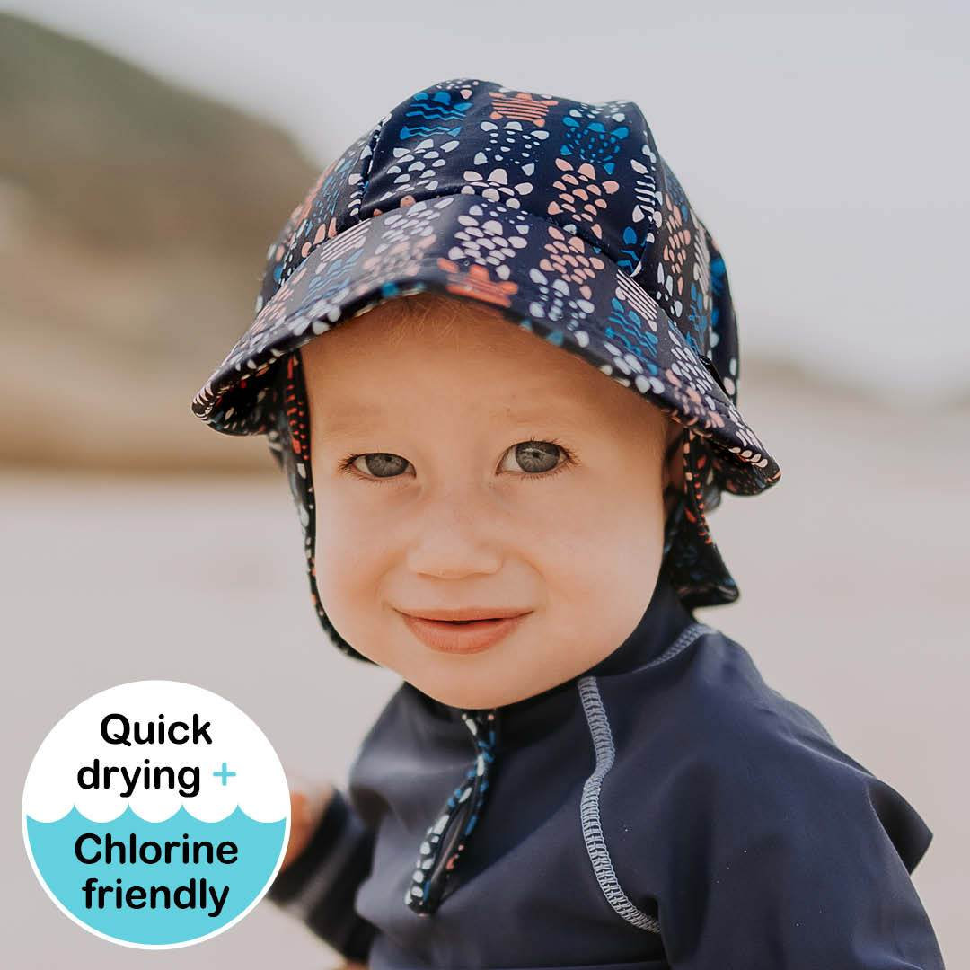 Kids Beach Legionnaire Hat (Turtle)