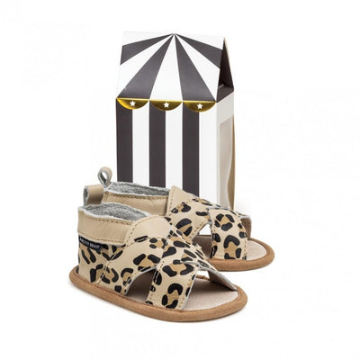 Cross Over Sandal (Leopard)