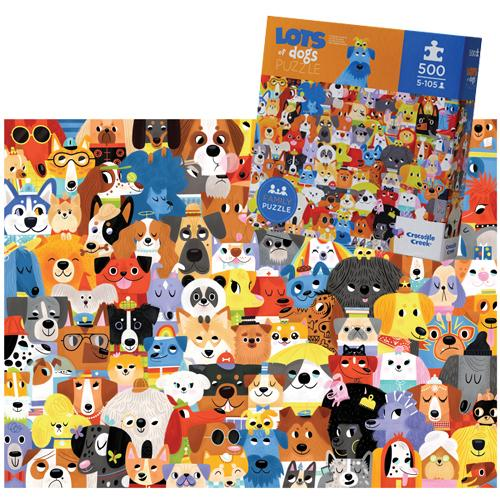 Dogs Puzzle (500 Pieces)