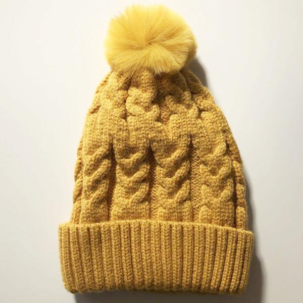 Single Pom Pom Beanie (Sunrise)