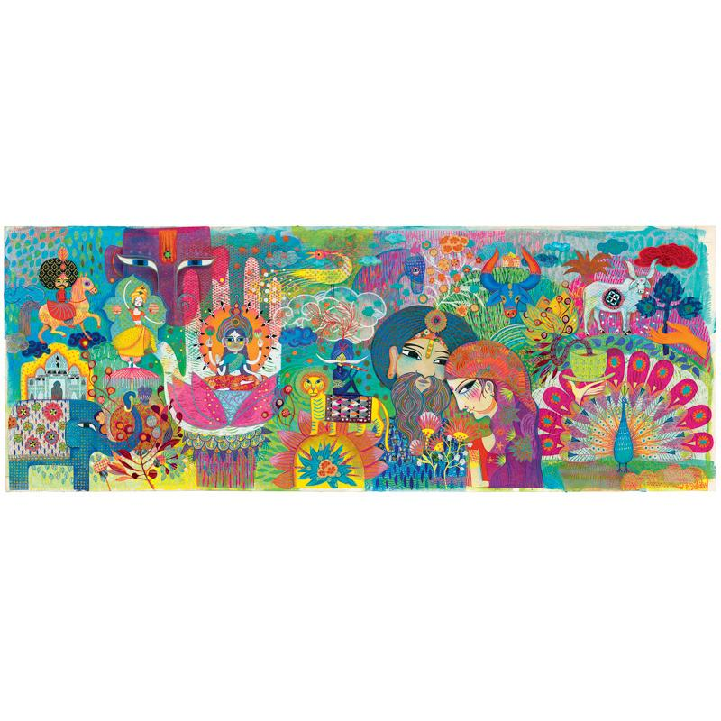 Magic India 1000 Piece Puzzle